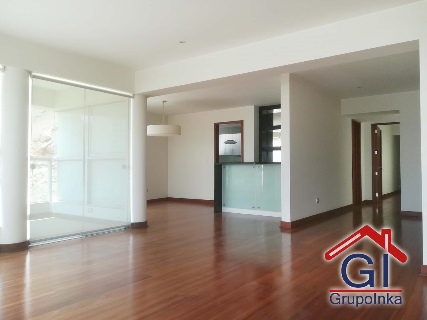 IMPECABLE DEPARTAMENTO, CON VISTA EXCLUSIVA AL CLUB ''GOLF LOS INKAS''