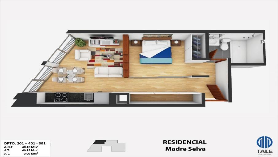 Proyecto Residencial Madre Selva