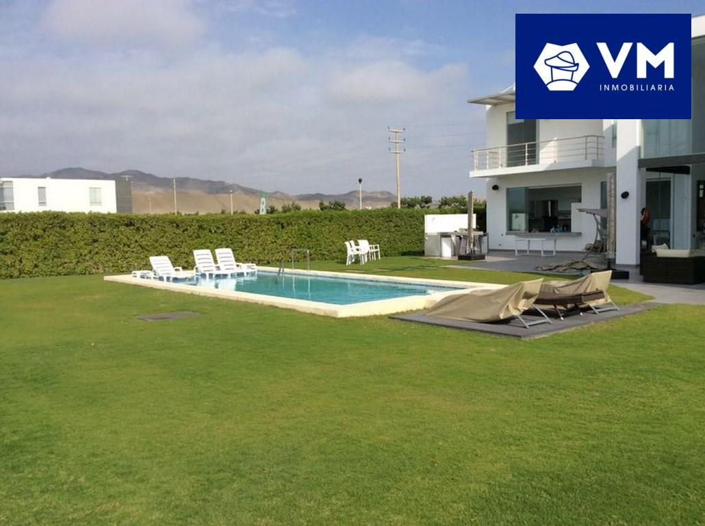 SE VENDE MODERNA CASA DE PLAYA EN EXCLUSIVA PLAYA ASÍA GOLF CLUB